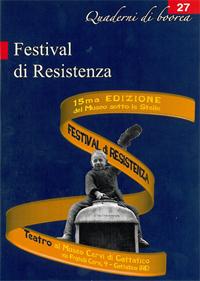 Quaderno n. 27 - Festival di Resistenza