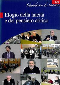 Quaderno n. 40 - Elogio della laicità e del pensiero critico