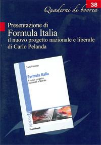 Quaderno n. 38 - Presentazione di Formula Italia