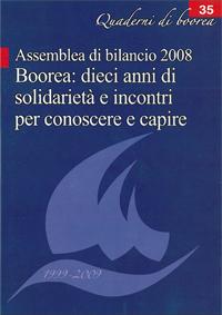 Quaderno n. 35 - Boorea: dieci anni di solidarietà e incontri per conoscere e capire